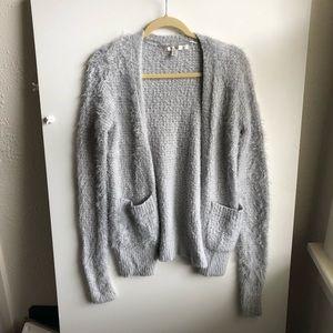 Lauren Conrad Fluffy Ice Blue Sweater / XS